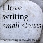 I love writing small stones.