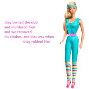 they owned the club . and murdered Ken . and we removed . his clothes, and that was when . they robbed him
