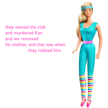 essays on barbie doll poem