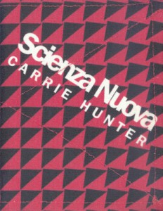 Scienza Nuova - Carrie Hunter cover